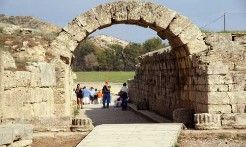 Ancient Olympia: 150 km