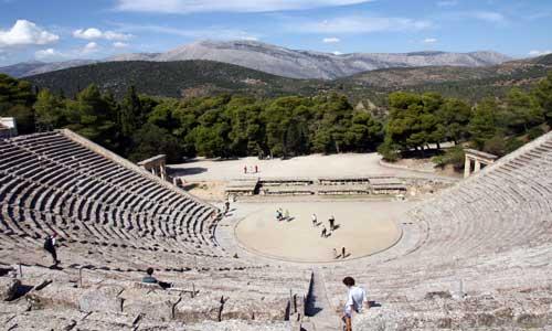 Epidauro: 150 km
