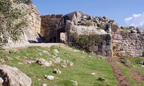 Mycenae: 150 km