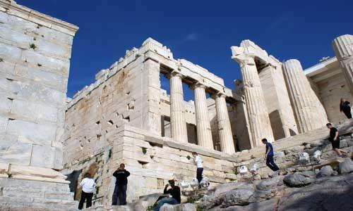 Athen-Akropolis: 185 km