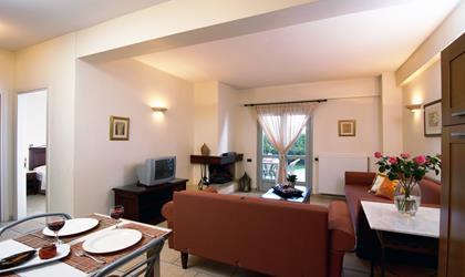 Suite NAFSIKA 50m² für 2-5 Personen